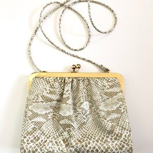 Shirl Miller Ltd. Snakeskin Vintage Purse
